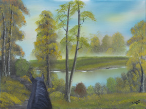 Karen Lakeside Trail 18 X 24